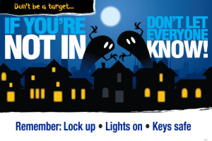 Lights on, lock up, key's safe