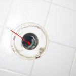 Defective Shower Drain